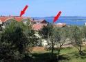 Chorvatsko, Ubytování Drage (Biograd) - 5904